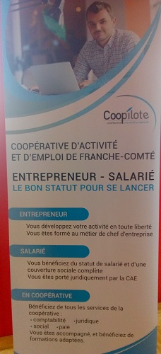 La Fruitière à Energies, Coopilote France active Franche Comté